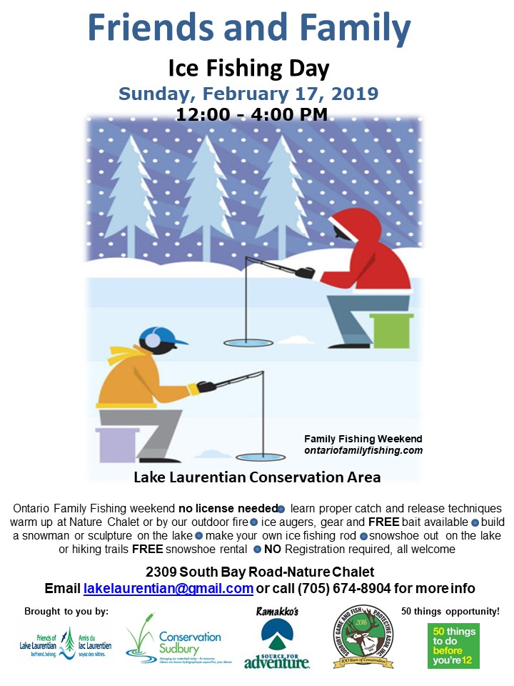 Friends and Family Ice Fishing Day 2019